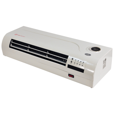2kW PTC Over Door Heater/Fan with Remote Control and 24 Hour 7 Day Timer